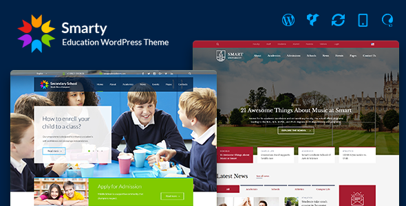 Smarty - Learning & Education WordPress Theme
