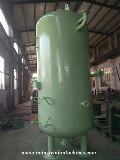Finished Compressed Air Storage Tank