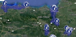 Jaringan 4G LTE AXIS di Jawa Tengah