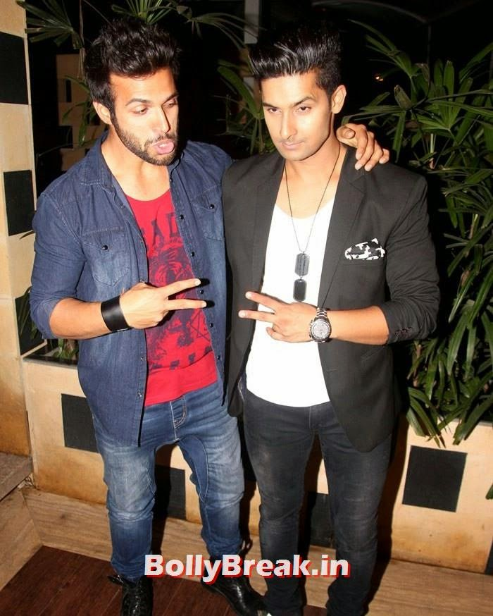 Rithwik Dhanjani, Ravi Dubey, Hot Pics from Sargun Mehta Birthday Bash
