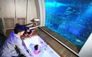 Underwater Suite, Palm Atlantis, Dubai