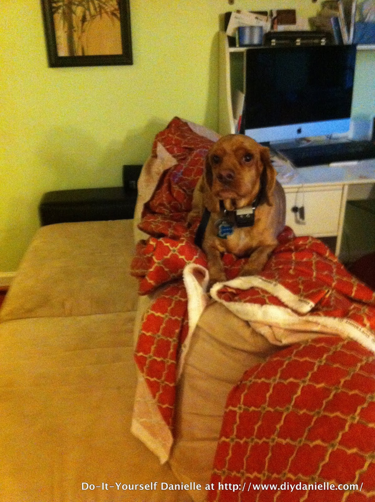 How To Sew An L Shaped Couch Cover Diy Danielle