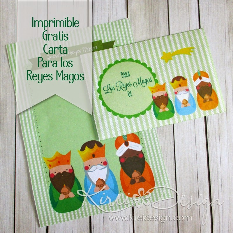 freebie imprimible carta reyes
