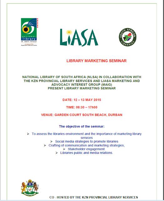 LIASA, NLSA, SANC Information Library
