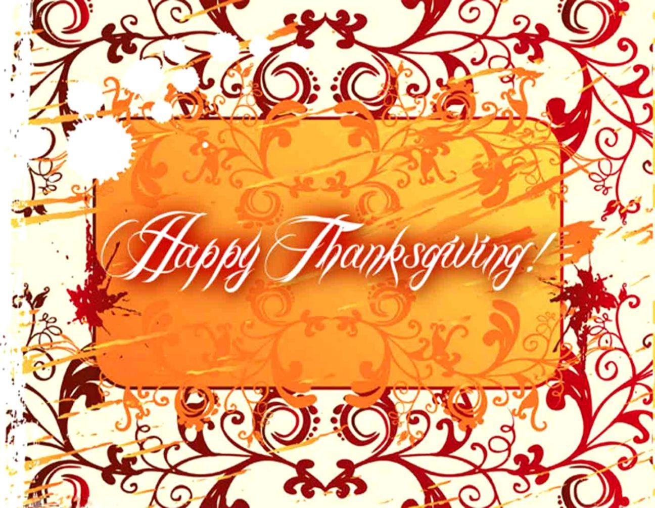 Happy Thanksgiving Wallpaper Wallpapers Genius