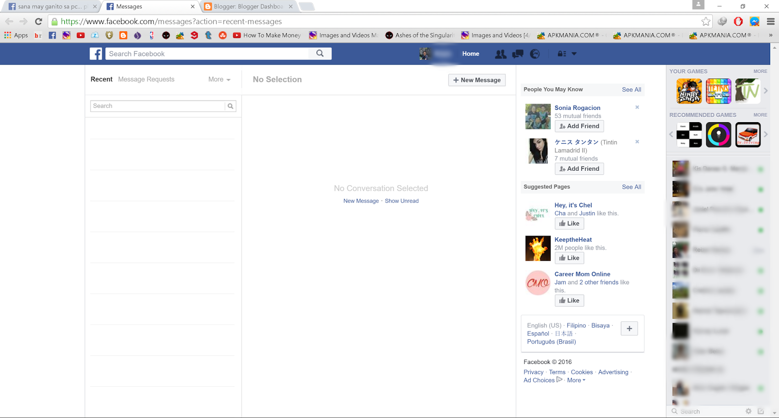 Delete All Facebook Message Quickly Gigaster Facebook How To