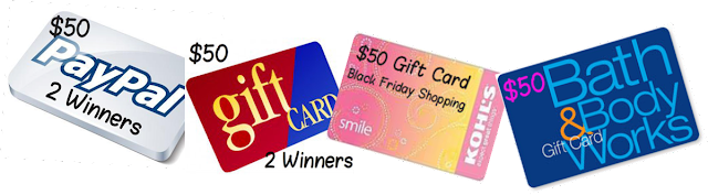 black friday gift card giveaway 4 winners shop til you drop black friday 50 gift card 8496