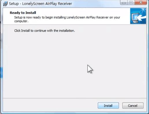 إظهار عرض شاشة الآيفون على الكومبيوتر بدون كابل LonelyScreen