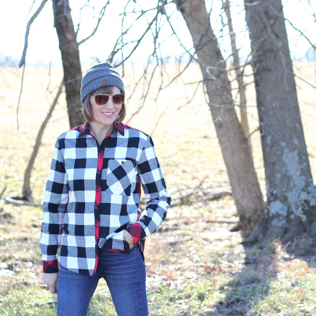 Buffalo Plaid Archer