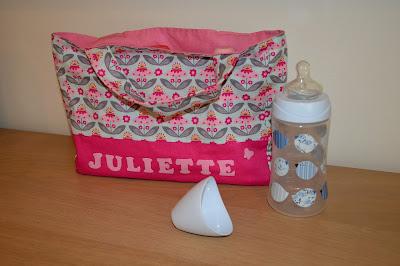 papflessentas, tasjes, naaien voor baby's,