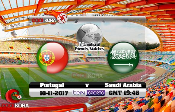 مشاهدة مباراة السعودية والبرتغال اليوم 10-11-2017 مباراة ودية