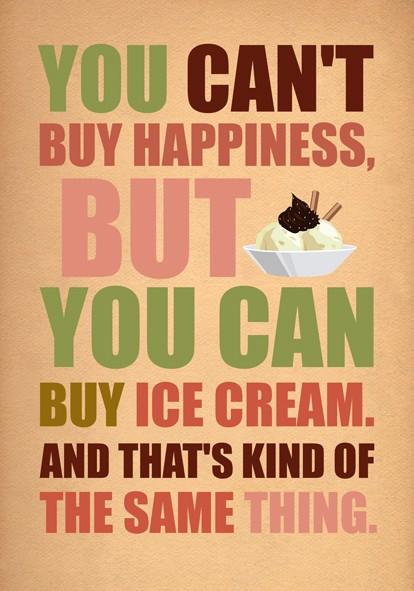 Fridays Quotes Ice Cream