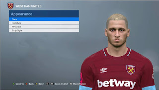 PES 2017 Faces Marko Arnautović by ABW_FaceEdit