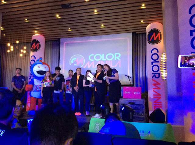 color manila race kit