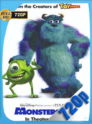 Monsters Inc (2001)HD [720P] Dual Latino-English [GoogleDrive] DizonHD