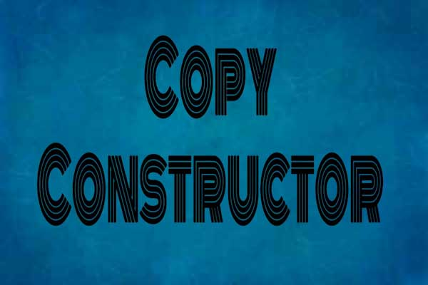 copy constructor in c++ programming, learn c++ programming