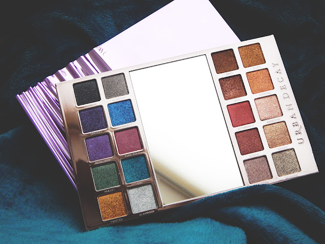 Urban Decay Heavy Metals Holiday Palette First Impressions & Swatches