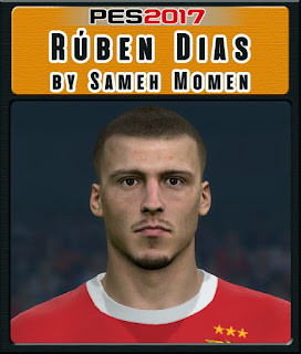 PES 2017 Faces Rúben Dias by Sameh Momen