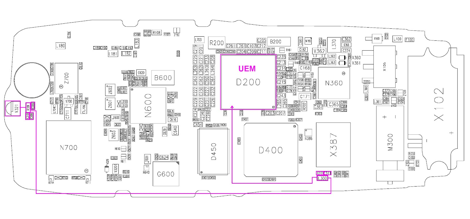 circuit diagram nokia 1100 wiring diagram mega circuit diagram nokia 1100 [ 1600 x 748 Pixel ]