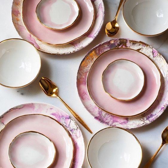 INSPIRATION DAY: Rosa y Porcelana