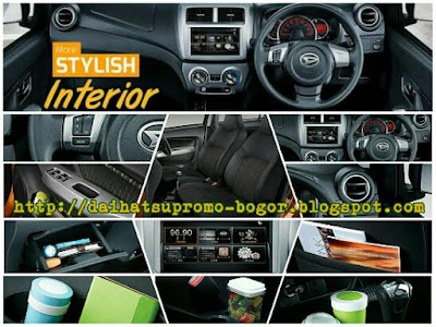 Interior ayla, Interior daihatsu ayla, Interior daihatsu, Interior Mobil