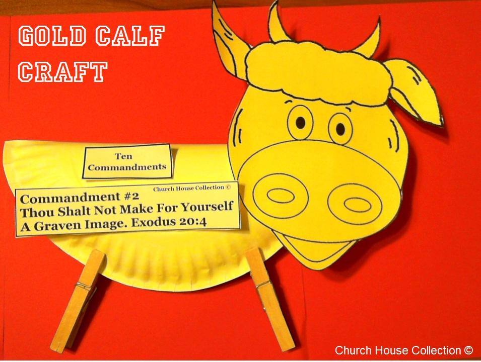 Golden Calf Craft Ideas