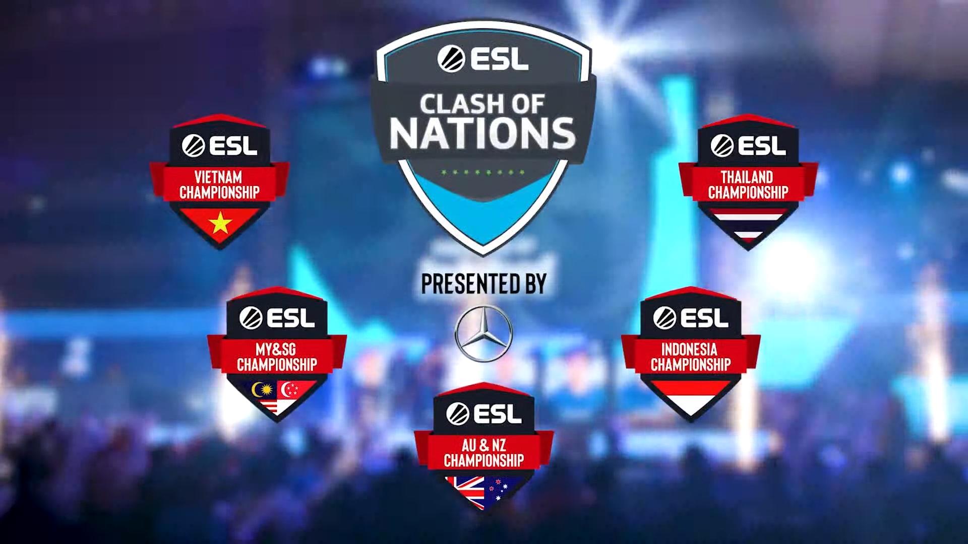 Xác định các cặp đấu vòng Play-In của ESL Clash of Nations 2019 (Ảnh 1)