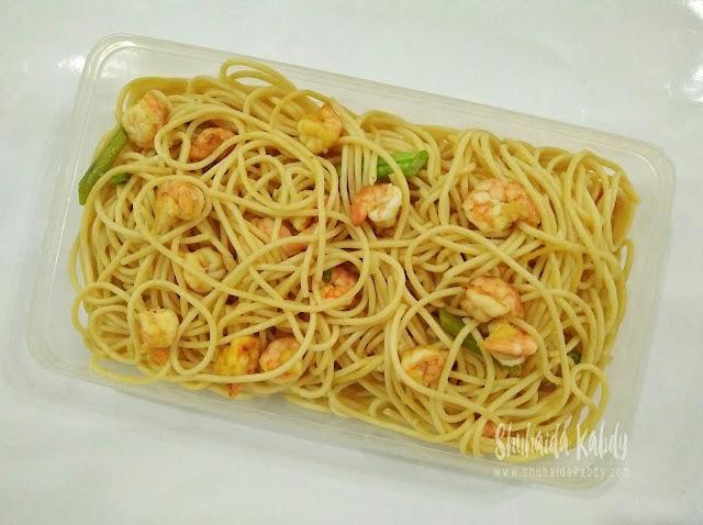 resepi spagetti olio