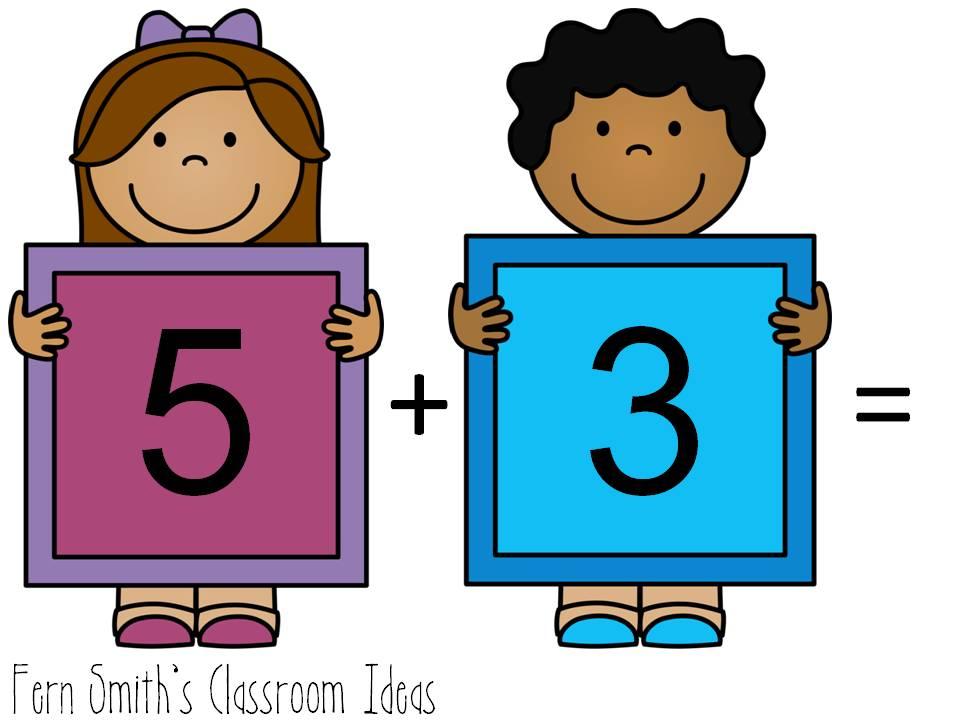 Fern\'s Freebie Friday ~ Number Cards 1 -20 - Fern Smith\'s Classroom ...