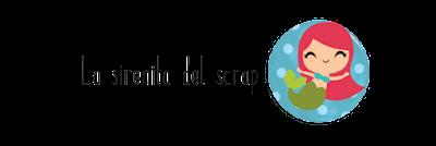 Logo La sirenita del scrap