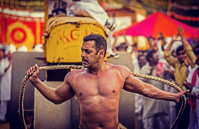 Salman Khan as Wrestler Sultan Ali Khan in Ali Abbas Zafar's Sultan