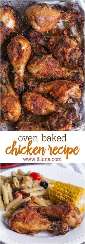 DELICIOUS OVEN BAKED DRUMSTICKS
