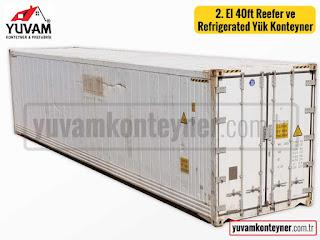 40lık soğuk oda deposu yük konteyner