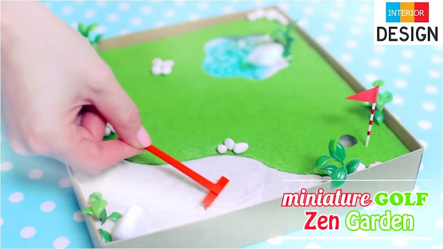 DIY Miniature Golf Zen Garden 7