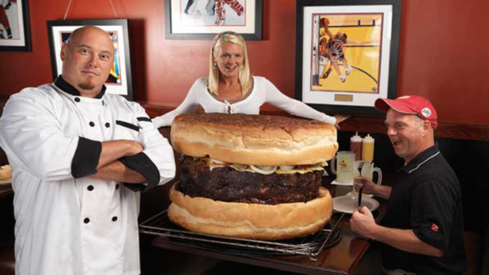World's Largest Commercially Available Burger