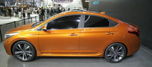 Next-Gen 2017 Hyundai Verna side angle