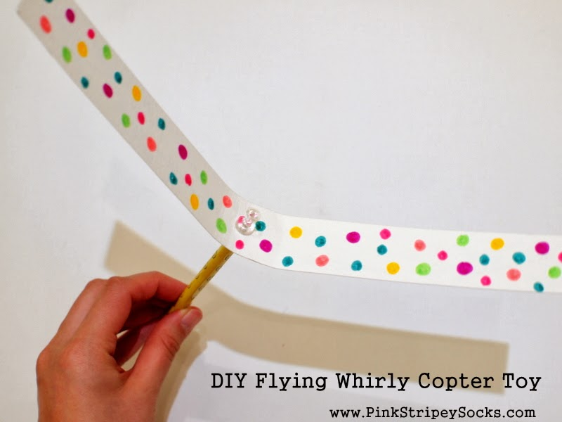 DIY Flying Whirly Copter Toy
