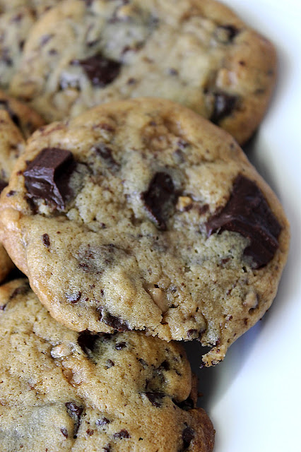 Chocolate Chunk Toffee Cookies by freshfromthe.com