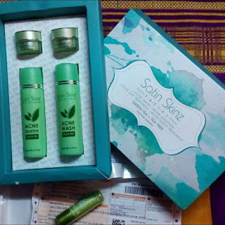 SATIN SKINZ FACIAL GREEN TEA