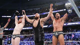 WWE - The Bar campeones por parejas en el episodio nº 1000 de SmackDown