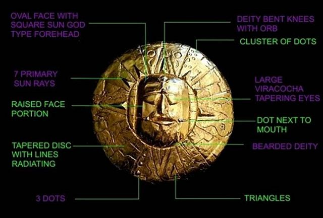Ancient Golden Inca Star Map Remains A Mystery  1