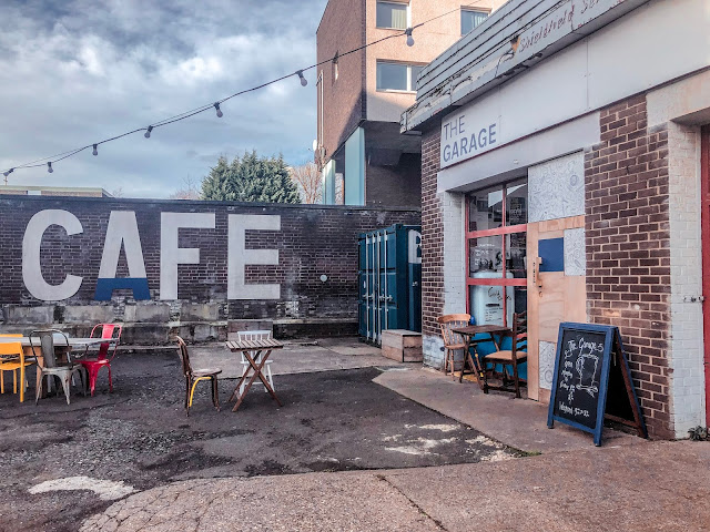 The Garage Cafe, Newcastle