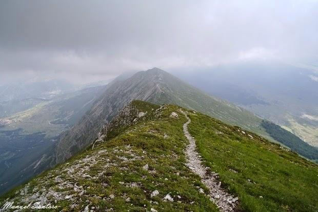 Monte Porrara, sentiero verso Campo di Giove
