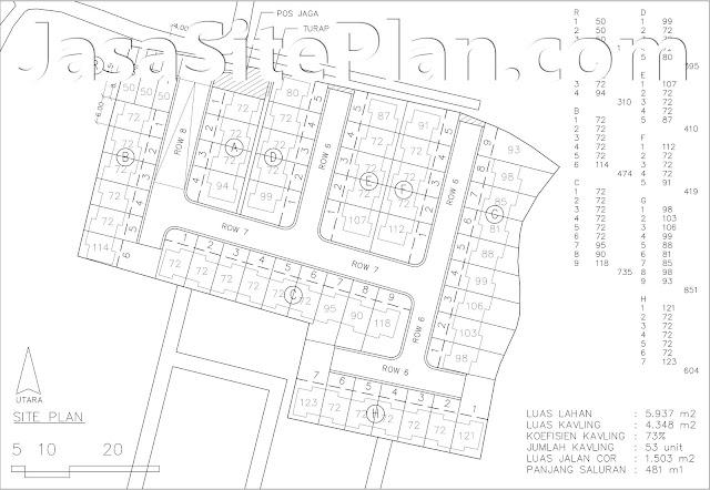 Desain Site Plan