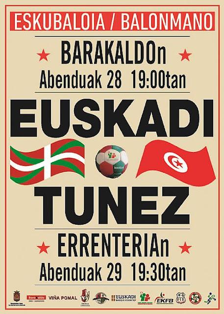 balonmano Euskadi-Túnez