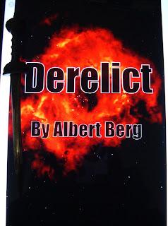Portada del libro Derelict, de Albert Berg