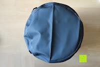 Boden: Dry Bag »Krake« Wasserdichte Trockentasche / Seesack / Survival Bag / Trockensack / Ideal für Kajak, Kanu, Segeln, Angeln, Schwimmen, Strand, Snowboarden, Skifahren, Bootfahren, Camping / Schützt Deine Wertsachen und Kleidung vor Staub, Nässe, Sand und Schmutz / 5L gelb