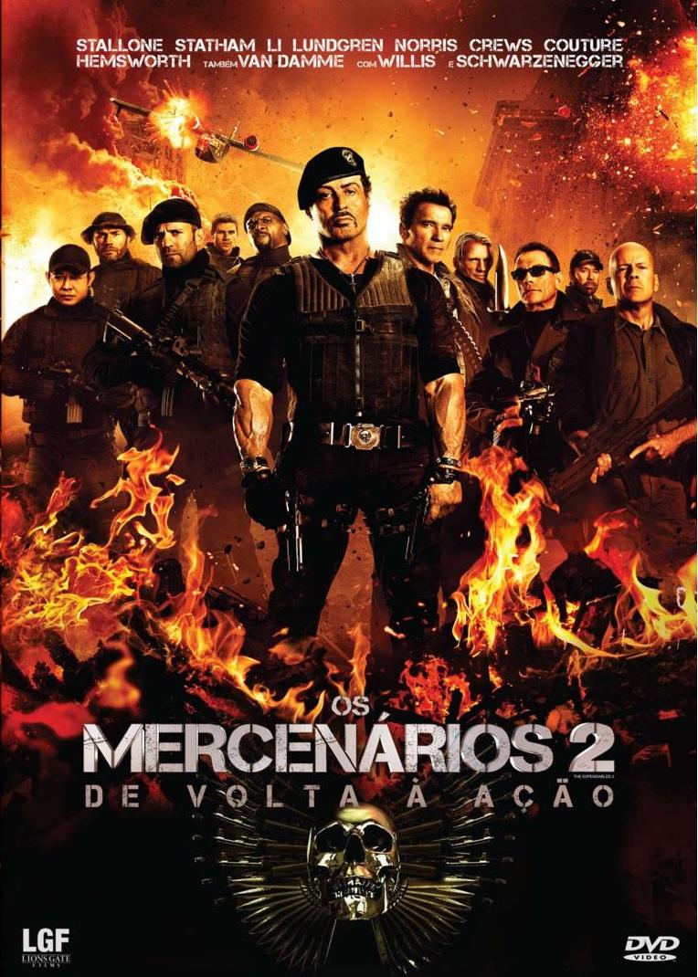 Os Mercenários 2 – Dublado (2012)