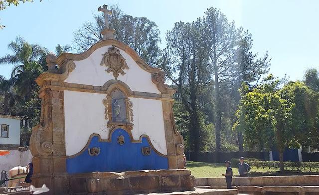 Estrada Real, Caminho Velho, Tiradentes, Chafariz de São José