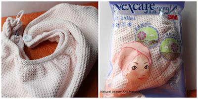 Nexcare Hair Turban in Light beige Colour